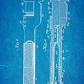 Jack Johnson Wrench Patent Art 1922 Blueprint by Ian Monk