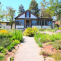 Jack London Countryside Cottage And Garden 5d24565 by Wingsdomain Art and Photography