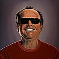 Jack Nicholson 2 by Paul Meijering