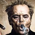 Jack Nicholson by Andrzej Szczerski