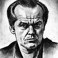 Jack Nicholson by Salman Ravish