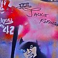 Jackie Robinson Red by Tony B Conscious