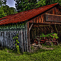 Jackson Garage by Russ Burch