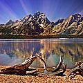 Jackson Lake Mt. Moran by Marty Koch