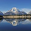 Jackson Lake Reflection by Lee Kirchhevel