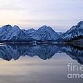 Jackson Lake Reflections by Adam Jewell