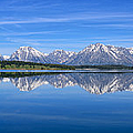 Jackson Lake Spring Panorama Limited Edition by Greg Norrell