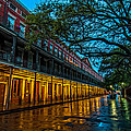 Jackson Square At Dawn by Andy Crawford