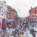 Jackson Square French Quarter by Edward Ching