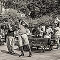 Jackson Square Jazz Sepia by Steve Harrington