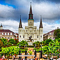 Jackson Square New Orleans by Jarrod Erbe