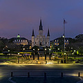 Jackson Square Sunrise by David Morefield