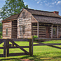 Jacksons Mill Cabin by Mary Almond