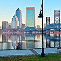 Jacksonville Across The St Johns River by Frozen in Time Fine Art Photography