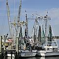 Jacksonville Fishing Boats by Bradford Martin