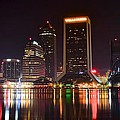 Jacksonville Night by Frozen in Time Fine Art Photography