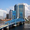 Jacksonville Skyline by Bill Cobb
