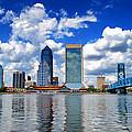 Jacksonville Skyline by Mountain Dreams