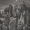 Jacob Goeth Into Egypt by Gustave Dore