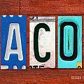 JACOB License Plate Name Sign Fun Kid Room Decor. by Design Turnpike