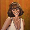 Jacqueline Bisset Painting by Paul Meijering