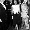 Jacqueline Kennedy Doesn't Need A Red Carpet by Retro Images Archive