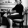 Jacqueline Kennedy Sitting Pretty by Retro Images Archive
