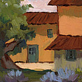 Jacques Farm In Provence by Diane McClary
