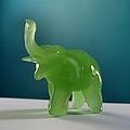 Jade Elephant by Tom Druin