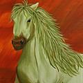 Jade Horse by Karen Rester