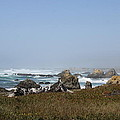 Jagged California Coastline by Christiane Schulze Art And Photography