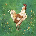 Jagger The Rooster by Linda Mears