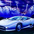 Jaguar 220 by Garry Walton