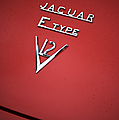 Jaguar E Type V12 Abstract by Tim Gainey