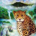 Jaguar In The Mist by Raphael De Selva