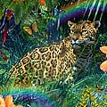 Jaguar Meadow  Variant 1 by Alixandra Mullins