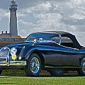 Jaguar Xk120 Roadster by Dave Koontz