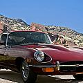 Jaguar Xke by Dave Koontz