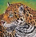Jaguar by Yvonne Johnstone