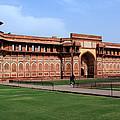 Jahangir Palace Red Fort Agra by Aidan Moran