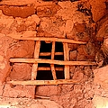 Jailhouse Ruin Window by Tranquil Light  Photography