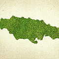 Jamaica Grass Map by Aged Pixel