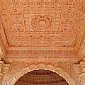 Jain Temple Ceiling - Amarkantak India by Kim Bemis