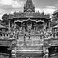 Jain Temple Monochrome by Steve Harrington