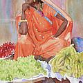 Jaipur Street Vendor by John Dougan