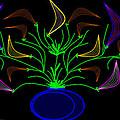 Jais' Koddy Leaf by Cynthia Johnson