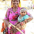 Jaisalmer Mother Daughter by David Rich