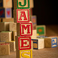 James - Alphabet Blocks by Edward Fielding