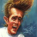 James Dean by Art