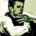James Dean Poster Art by Florian Rodarte